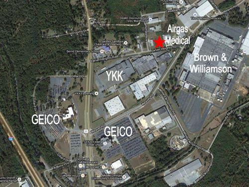 Industrial Site : Macon : Bibb County : Georgia