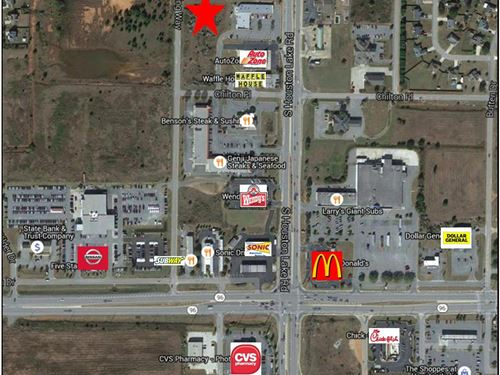 Commercial Development Site : Warner Robins : Houston County : Georgia