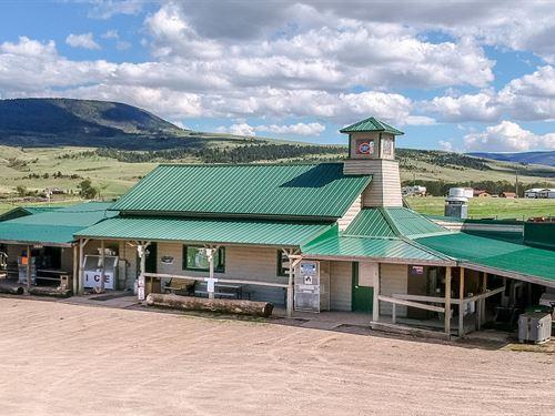 The Blue Nugget : Sapphire Village : Judith Basin County : Montana