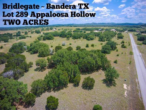 2.05 Acres In Bandera County : Bandera : Texas