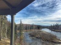 Breathtaking Denali View River Fro : Willow : Matanuska-Susitna Borough : Alaska