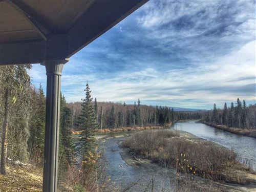 Breathtaking Denali View River Fro : Willow : Matanuska-Susitna Borough : Alaska