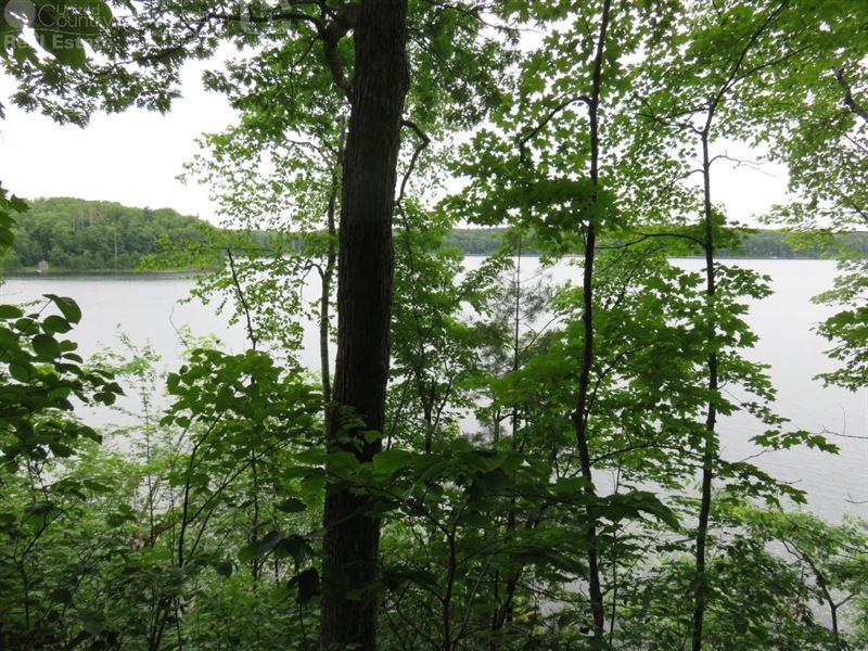Buildable Lakefront Lot : Sarona : Washburn County : Wisconsin