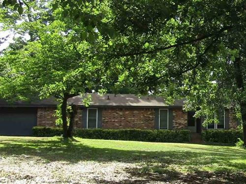 Lake Home With 3.20 Acres : Ft Towson : Choctaw County : Oklahoma