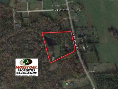 4 Acres of Land With Home For Sale : Norlina : Warren County : North Carolina