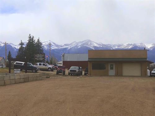 Office And Garage On Main : Silver Cliff : Custer County : Colorado