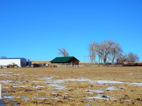 Salt Brush Country Home & Acrea : Riverton : Fremont County : Wyoming