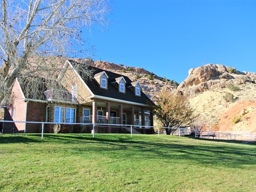 Flaming Gorge Equestrian : McKinnon : Sweetwater County : Wyoming