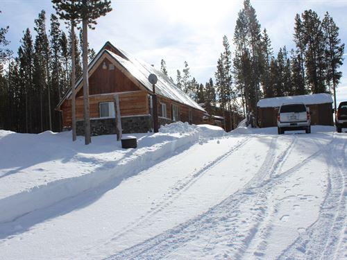 Four Seasons On The Medicine Bow : Laramie : Albany County : Wyoming