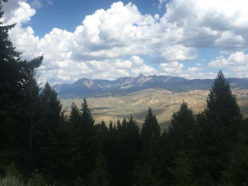 Union Pass Porcupine Hideout : Dubois : Fremont County : Wyoming