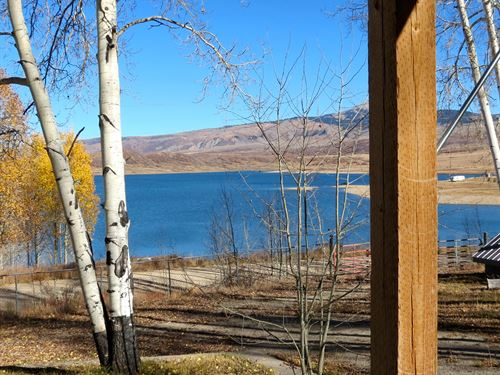 Groundhog Reservoir Aspen Cabin : Dolores : Colorado