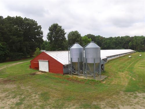 Bertie County Poultry Farm For Sale : Windsor : Bertie County : North Carolina