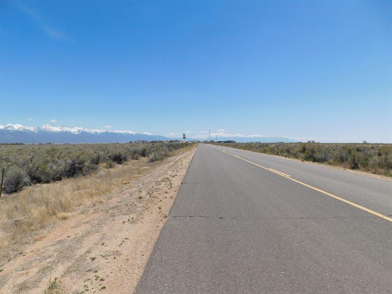 Lot In Moffat Near State Highway : Moffat : Saguache County : Colorado