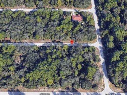 Jamie Ave Adjacent Lot 1 : Port Charlotte : Charlotte County : Florida