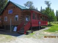 Cabin That is Ready to Move Into : Ninilchik : Kenai Peninsula Borough : Alaska