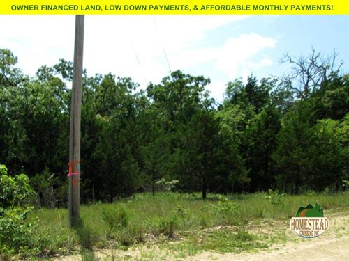 Wonderful Property With Electric : Gainesville : Ozark County : Missouri