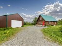 Charming Cabin & Shop, End of th : Ninilchik : Kenai Peninsula Borough : Alaska