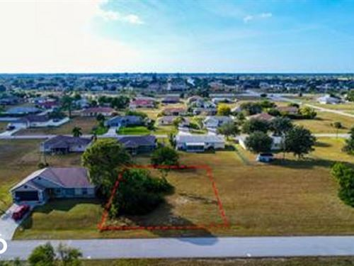 1910 Vacant Dry Lot : Cape Coral : Lee County : Florida
