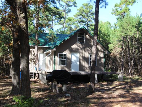 New Country Cabin In Pushmataha Co : Moyers : Pushmataha County : Oklahoma