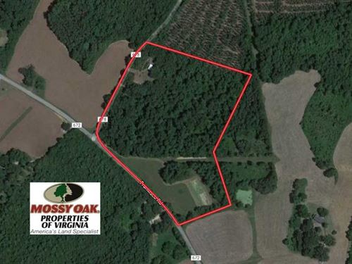 Under Contract, 17 Acres of Recr : Brookneal : Charlotte County : Virginia