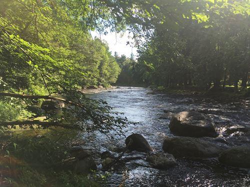 For The Adirondack Kayaker : Brasher Falls : New York County : New York
