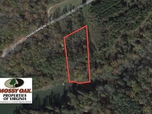 1.65 Acre Waterfront Lot For Sale : Mollusk : Lancaster County : Virginia