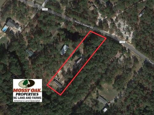 Reduced, 1.38 Acres of Residentia : Atkinson : Pender County : North Carolina