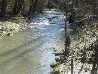 Gorgeous Cascading Creek : Thorn Hill : Hancock County : Tennessee