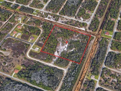 8.09 Acres In Lehigh Acres, FL : Lehigh Acres : Lee County : Florida