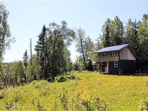 Home And Dry Cabin : Ninilchik : Kenai Peninsula Borough : Alaska