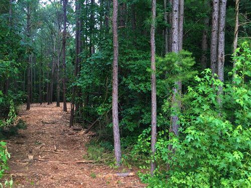 Wooded 2.96 Acre Lot In Walton Co : Monroe : Walton County : Georgia