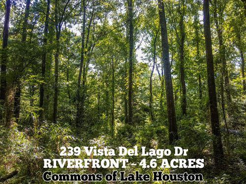 4.6 Acres In Harris County : Huffman : Harris County : Texas