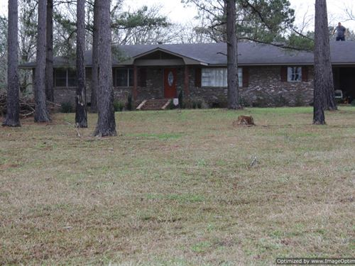 Updated Home On 2 Acres : Brookhaven : Lincoln County : Mississippi