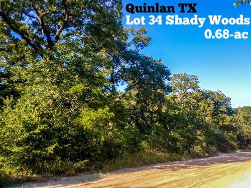 .68 Acres In Hunt County : Quinlan : Hunt County : Texas