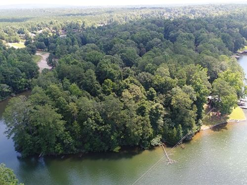 1.75 Ac Lake Front On Lake Harding : Fortson : Harris County : Georgia
