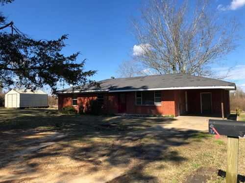 2 Homes On 10 Acres In Salem School : Jayess : Walthall County : Mississippi
