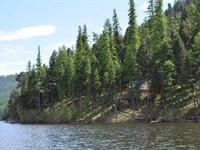 Amazing Lakefront Privacy On Salmon : Seeley Lake : Missoula County : Montana