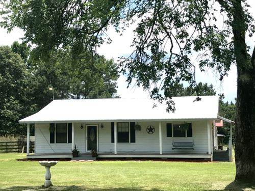 West Lincoln Ranch House : Brookhaven : Lincoln County : Mississippi
