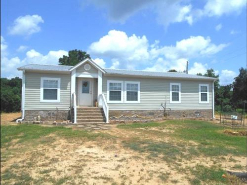19 Acres With A Home In Tallahatchi : Tillatoba : Tallahatchie County : Mississippi