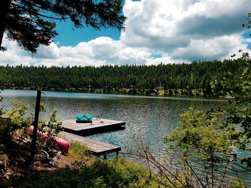 Modern Day Tree House : Seeley Lake : Missoula County : Montana