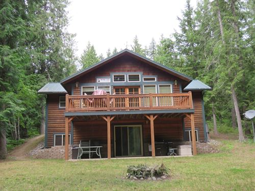 Halo Drive Retreat : Troy : Lincoln County : Montana