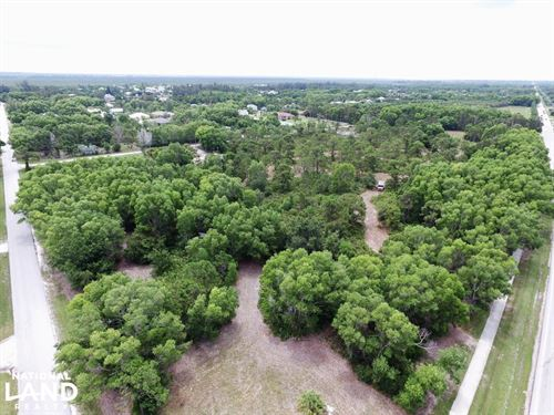 Pine Island Commercial Corner Lot : Bokeelia : Lee County : Florida