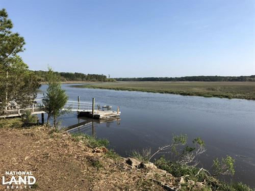Sugar Loaf Deepwater River Lot : Yemassee : Jasper County : South Carolina