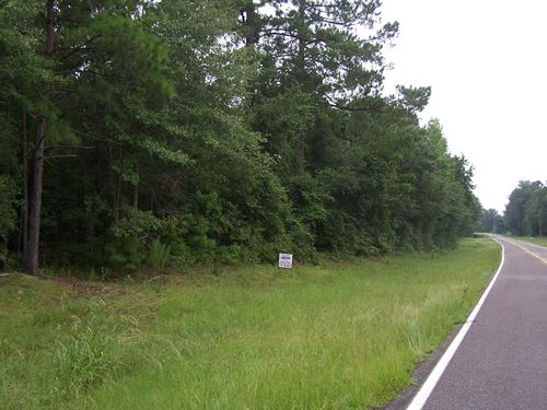 Beautiful Building Site River Road : Wadley : Jefferson County : Georgia