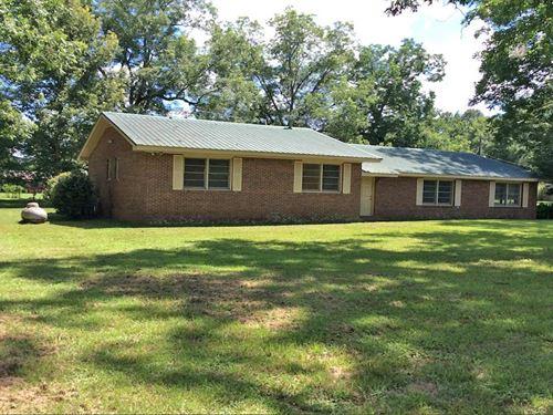 W Hickory Grove Rd : Lapine : Crenshaw County : Alabama