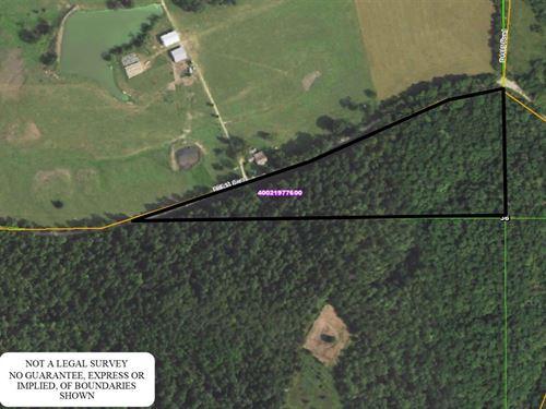 13.61 Acres M/L : Hulbert : Cherokee County : Oklahoma