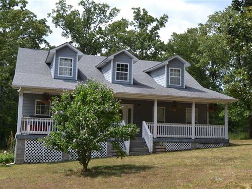 Home And 19.60 Acres Within MI : Marshall : Searcy County : Arkansas