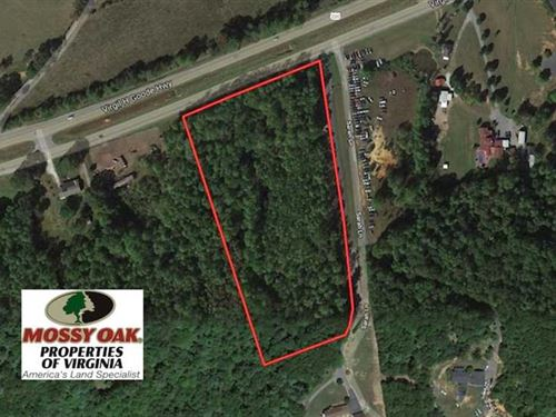 6 Acres of Commercial OR Residenti : Rocky Mount : Franklin County : Virginia