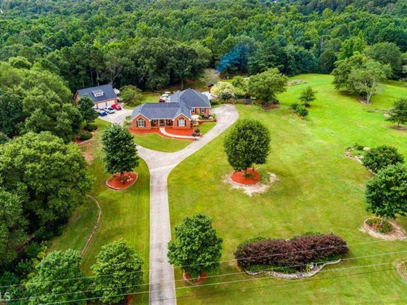 Beautiful 5 Acre Estate Home