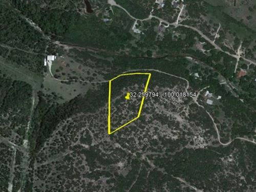 Livable 6.02-Acre Lot 15 Minutes : Tuscola : Taylor County : Texas